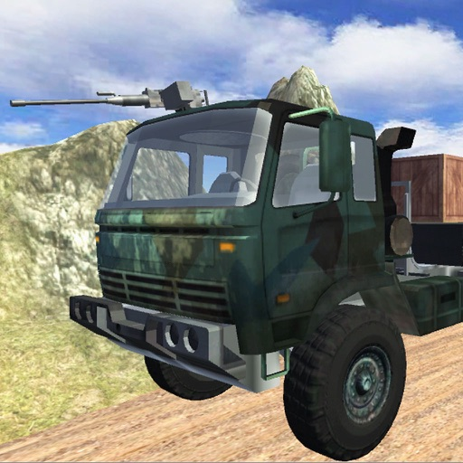 Off-Road Army Cargo Truck Transporter