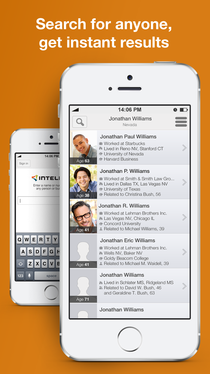 Intelius - Reverse Phone Lookup & Background Check Screenshot