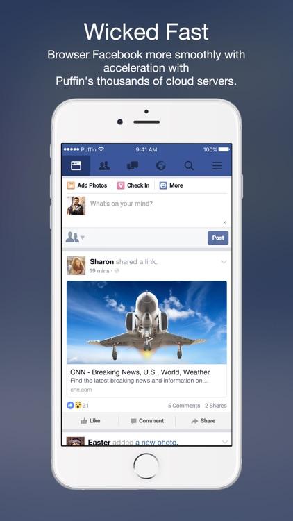 Puffin for Facebook screenshot-4