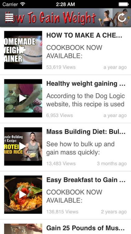 How To Gain Weight: How to Build Muscles Fast screenshot-3