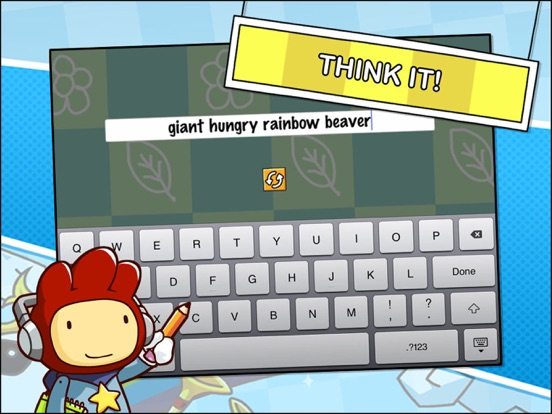 Scribblenauts Remix Screenshots
