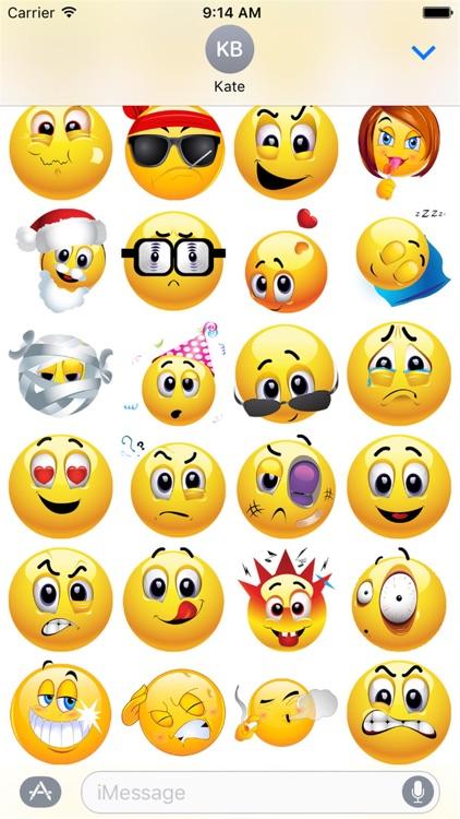 HD Emoji Stickers 2 screenshot-3
