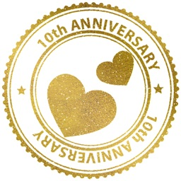 Anniversary Stickers