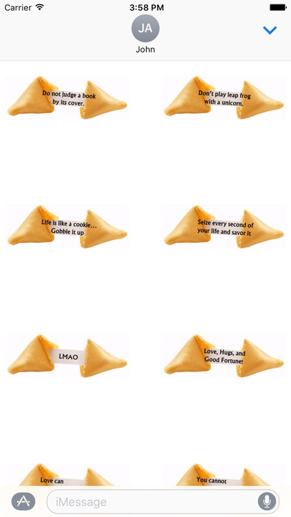 Animated Fortune Cookie Stickers screenshot-3