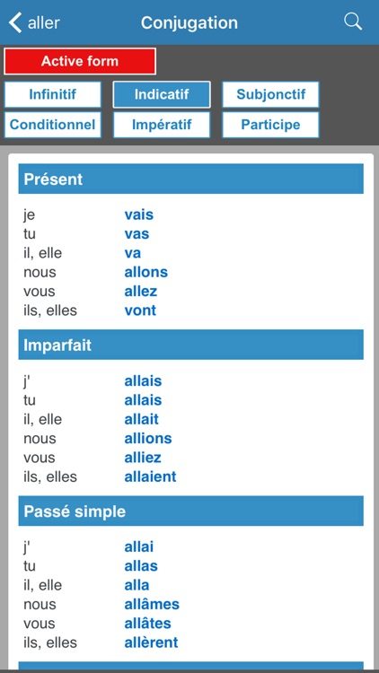 English / French dictionary screenshot-4