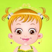 金宝贝变身小公主