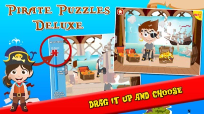 Pirate Puzzles: Jigsaw Puzzles for Kids Deluxe screenshot three