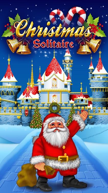 Christmas Solitaire Tri-Peaks