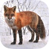 Animals Jigsaw Puzzles Words Learning