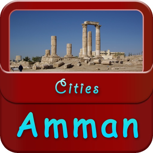 Amman Offline Map Travel Guide