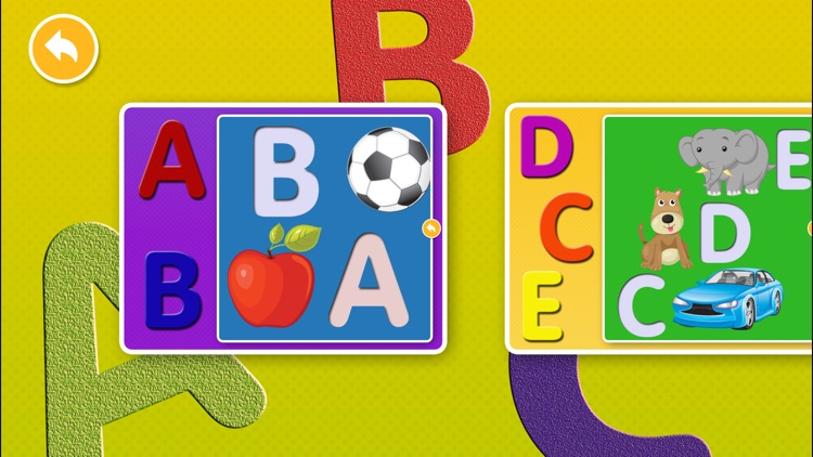Little Children's Educational Swanky Alphabet Puzzle Game screenshot-4