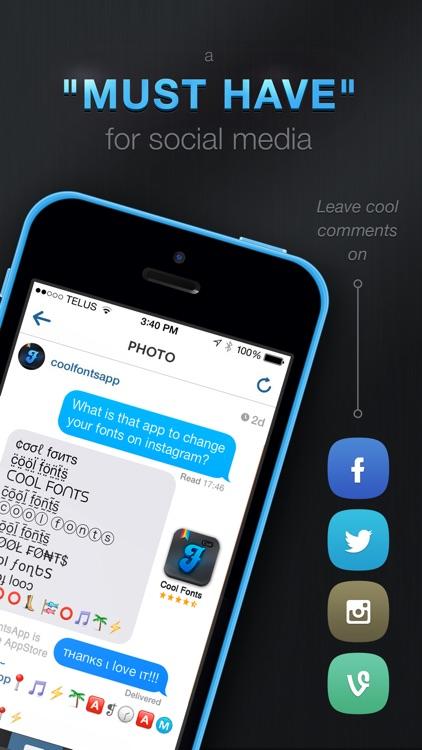 Cool Fonts screenshot-3