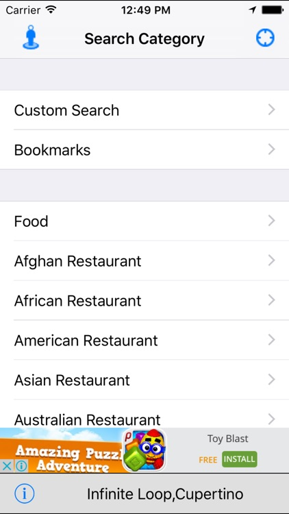 Nearby Food - Restaurant Finder Lite screenshot-0