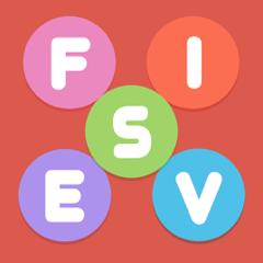 Fives - Wörter Geschwindigkeit Puzzle