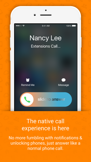 Vonage Extensions Your Home Calls On Your Iphone On The App Store
