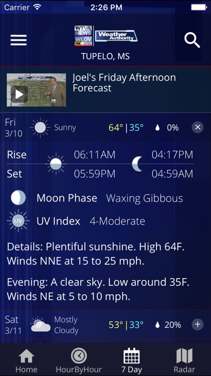 WTVA Weather screenshot-3