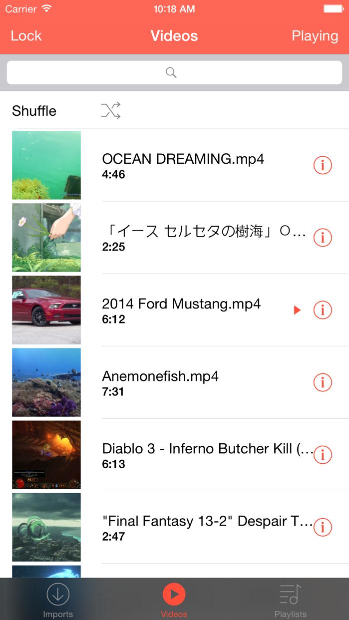 Cloud Video Player - Play Videos from Cloud Screenshot