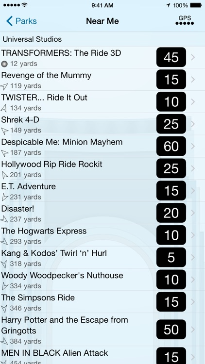 Wait Times for Universal Orlando screenshot-3