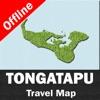 TONGATAPU ISLAND (TONGA) – GPS Travel Map Offline Navigator
