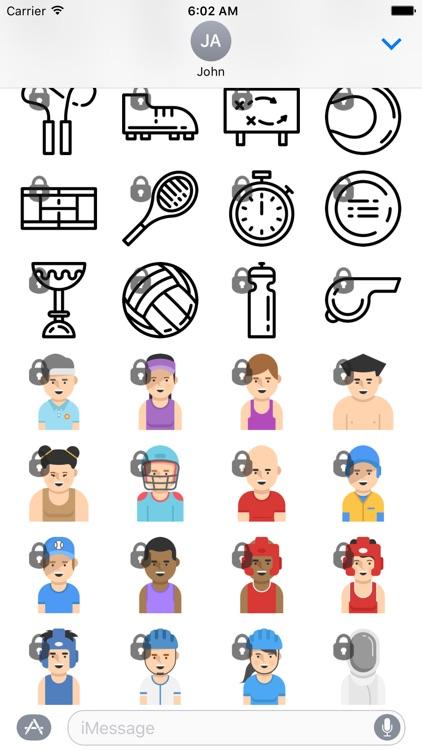 Sports Sticker Set screenshot-3
