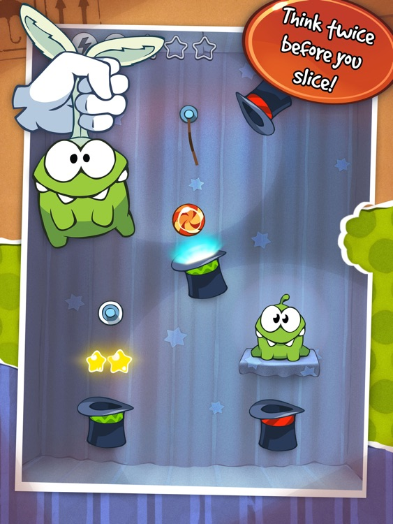 Cut the Rope HD screenshot-2