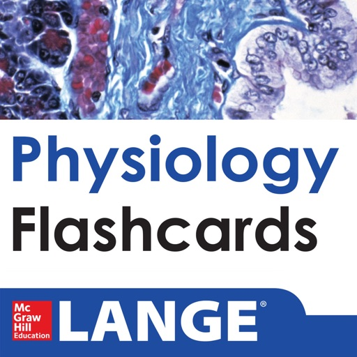 Physiology Lange Flash Cards icon