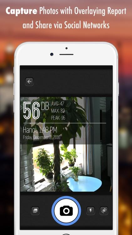 Decibel X: dB, dBA Noise Meter screenshot-3
