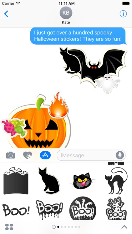 Halloween Stickers Pack!