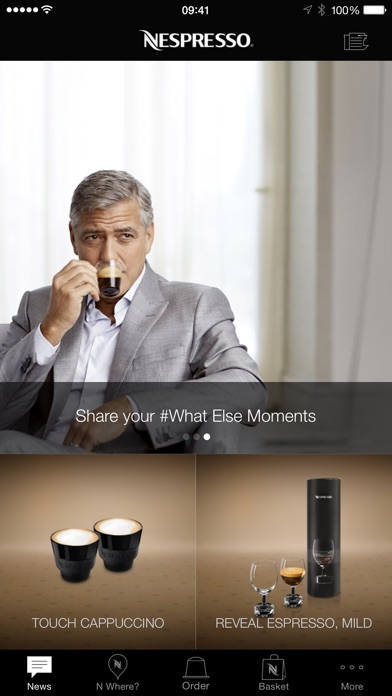 Download Nespresso App