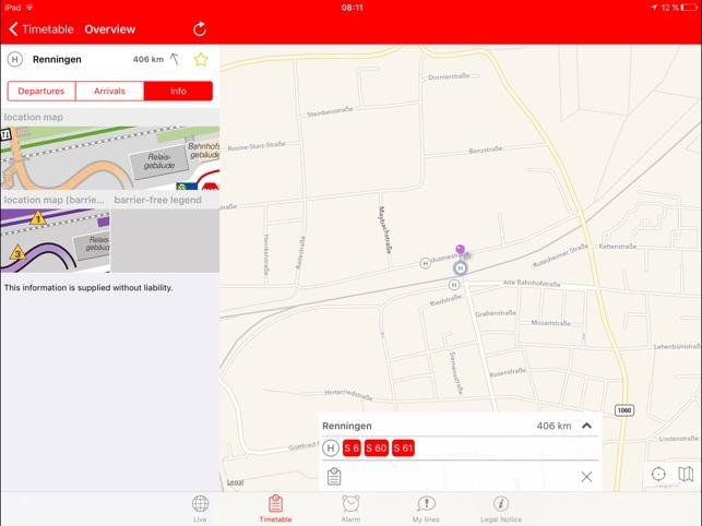 Navi SBahn Stuttgart HD on the App Store