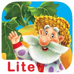 Turnip Giant. A kind fairy tale for kids. Lite