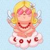 点击获取Animated Love Cupid Stickers