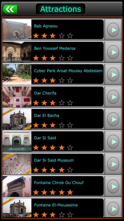 Marrakech Offline Map Travel Guide screenshot-3