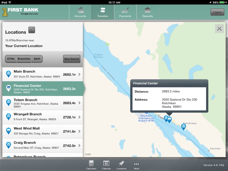 First Bank – Tablet Banking screenshot-4