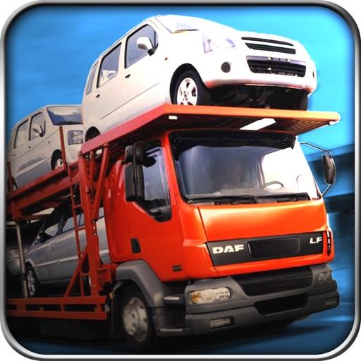 City Car Transport - Cargo Trailer Truck