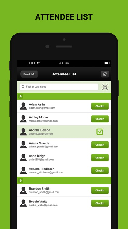 Check-In Manager for Ticketing software screenshot-3
