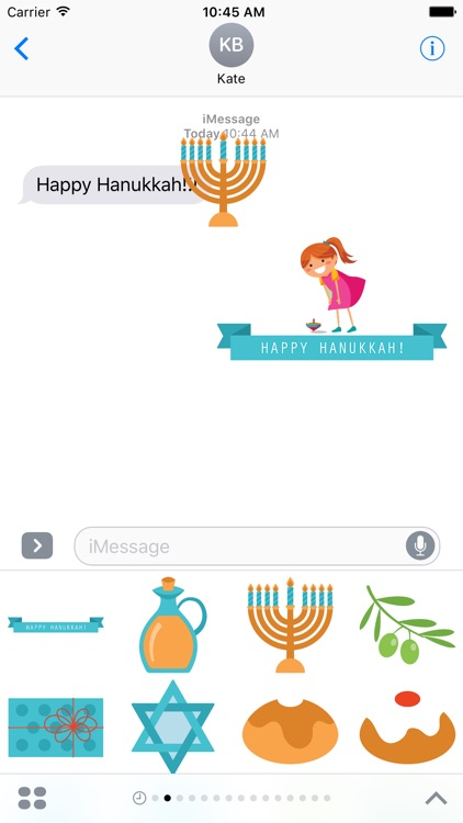 Hanukkah for Stickers