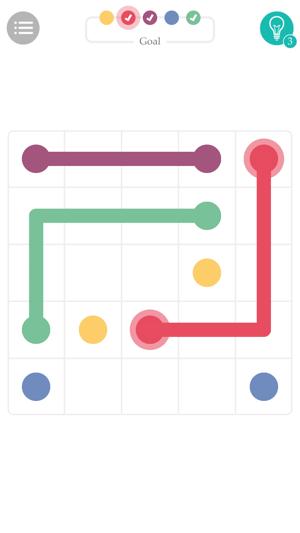 Verbinden Sie Farben - Geist Rätsel im App Store