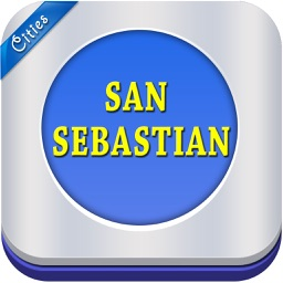 San Sebastian Offline Map City Guide