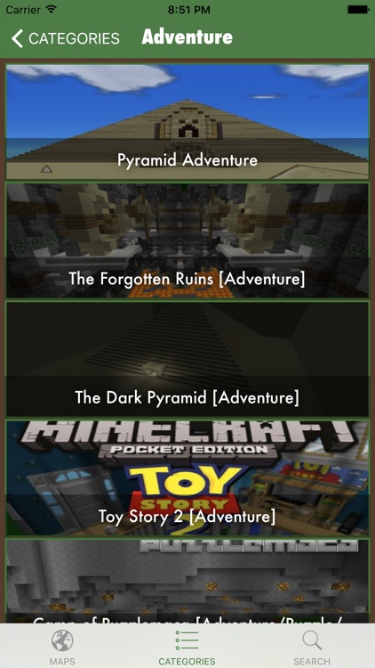 MineMaps Free - Download Top Maps for Minecraft PE screenshot-3