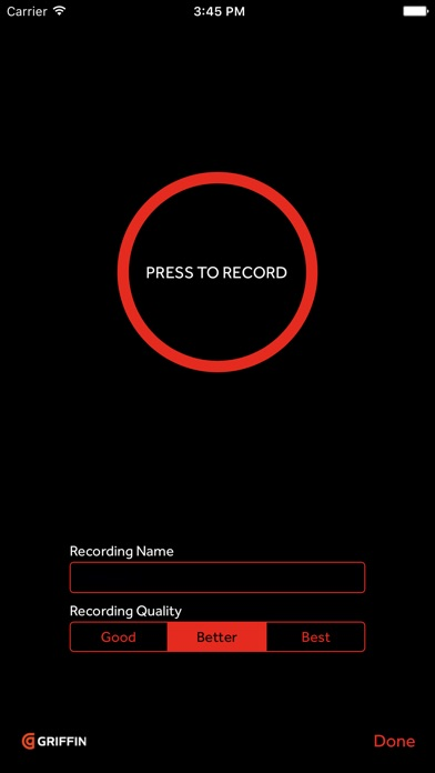 iTalk Recorder screenshot one