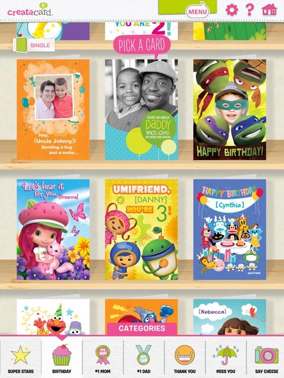 Creatacard Card Maker - Create and Send Birthday Cards and More! screenshot-3
