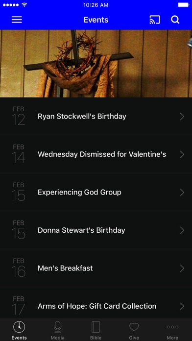 Western Hills Church of Christ screenshot 1