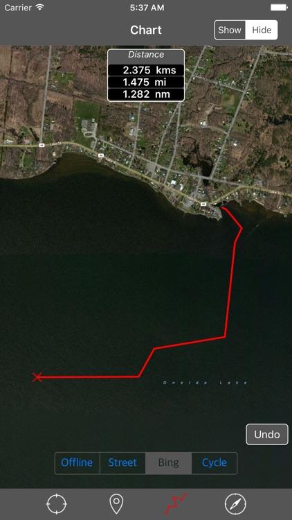 Oneida Lake (New York) – Raster Nautical Charts