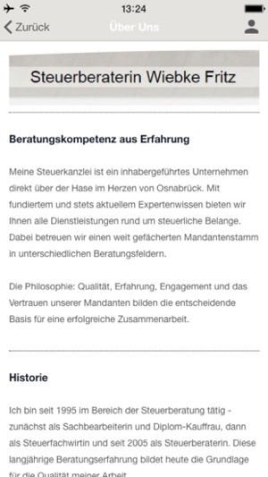 Steuerberaterin W. Fritz on the App Store
