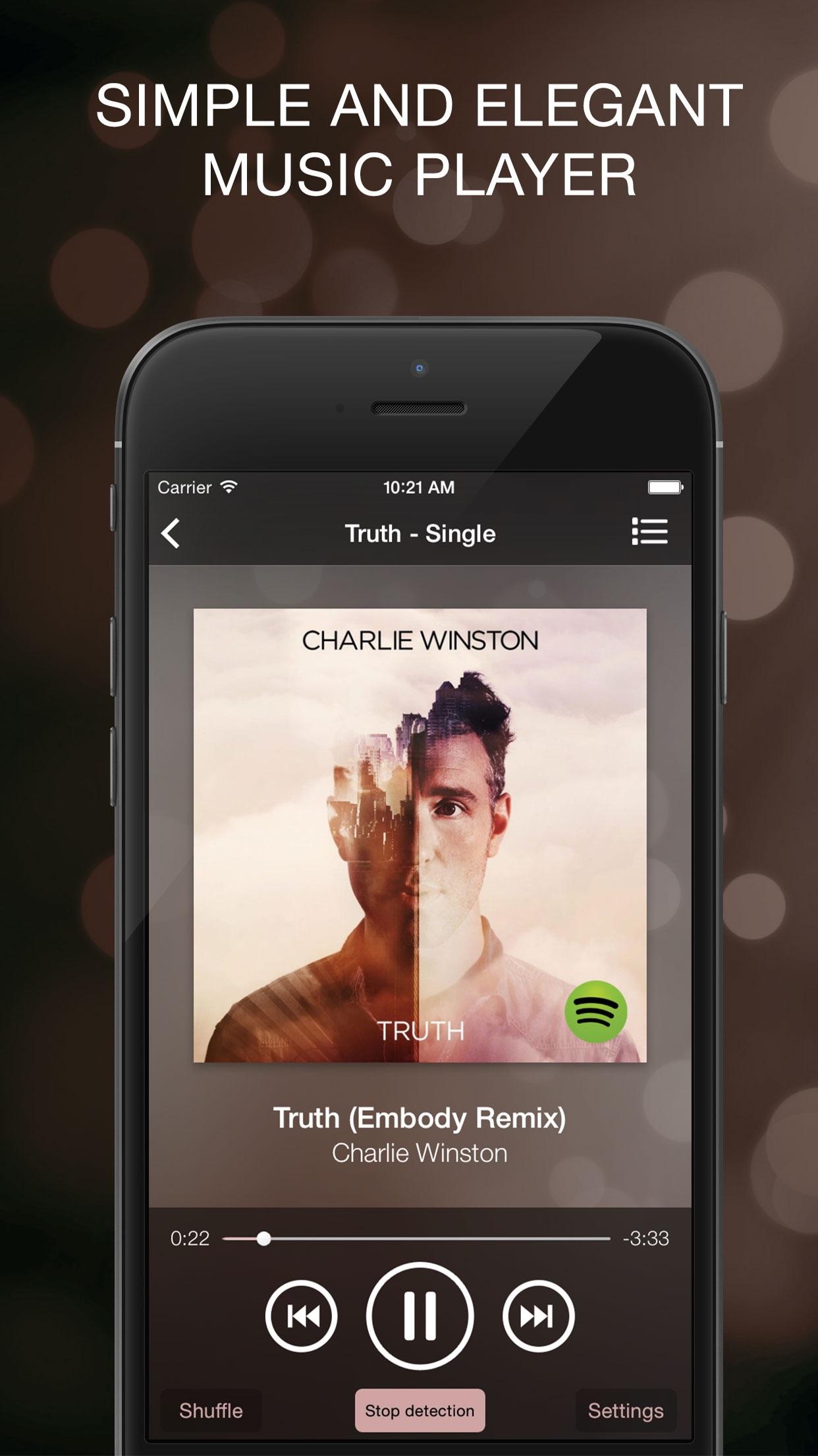 Screenshot do app tipSkip 2