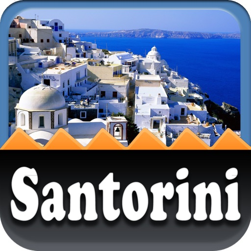 Santorini Offline Map Travel Guide