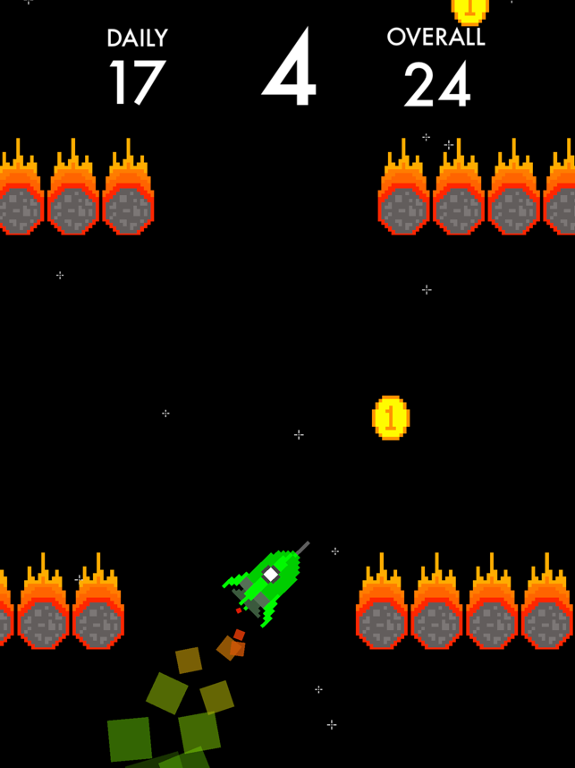 Blast-Off, game for IOS