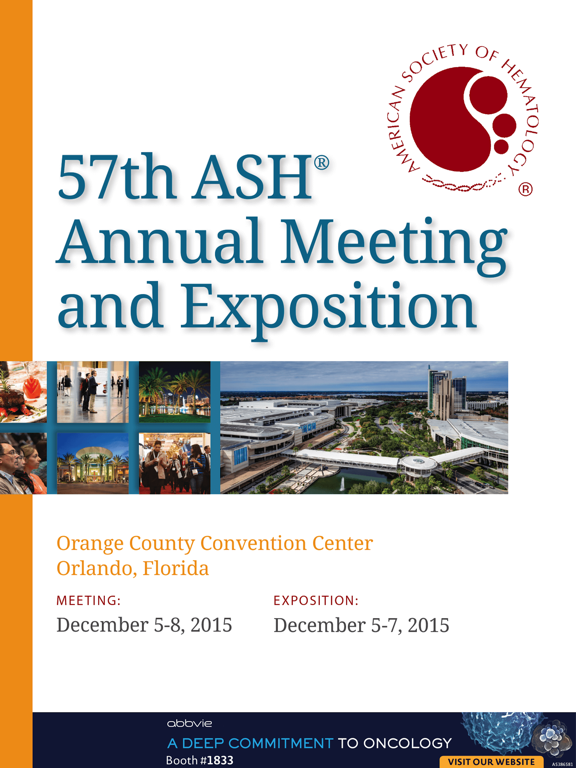 2015 ASH Annual Meeting & Expo-ipad-0