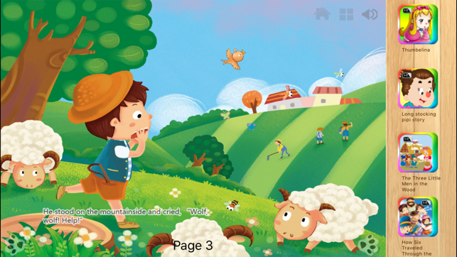 The Boy Who Cried Wolf iBigToy on the App Store